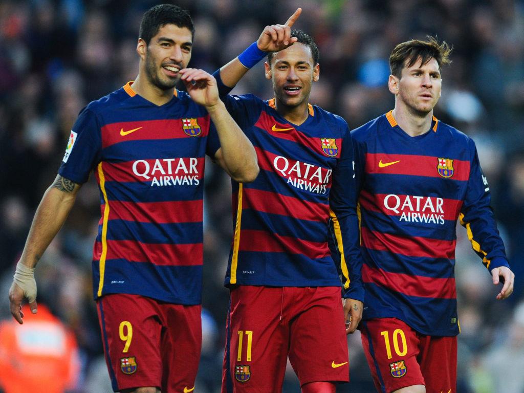 Suarez, Neymar et Messi au FC Barcelone
