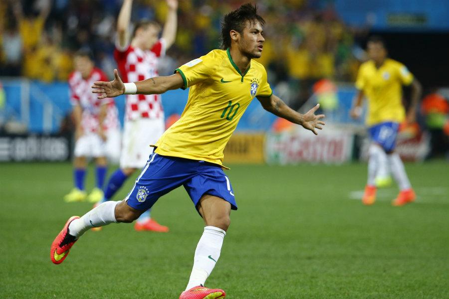 But de Neymar contre la Croatie