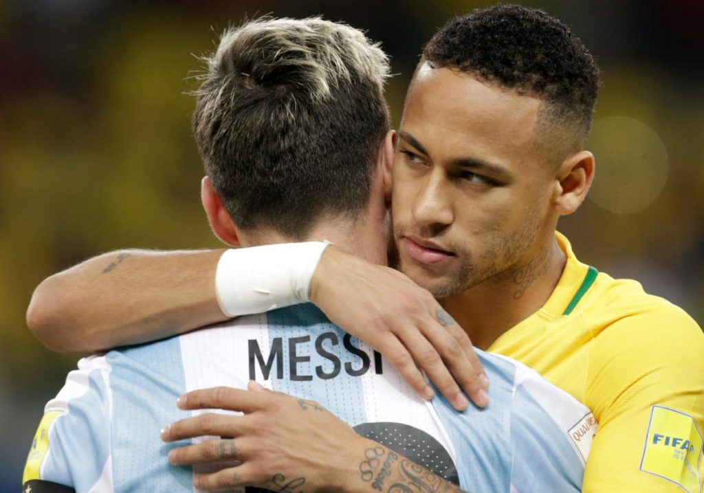 Neymar et Messi en sélection