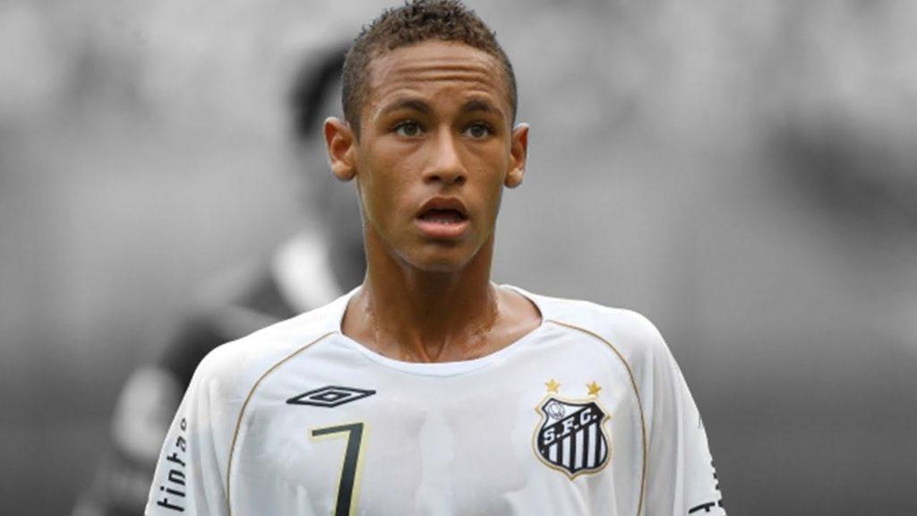 Neymar jeune