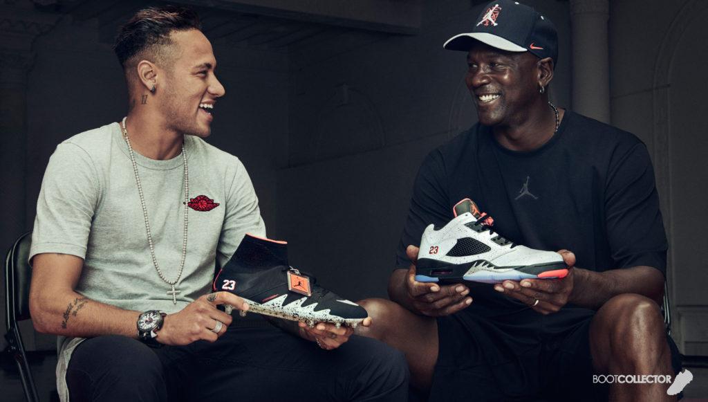 Neymar et Michael Jordan