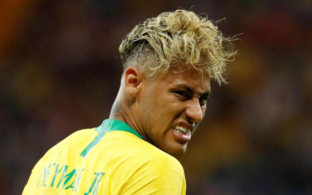 Coupe de Neymar pour la coupe du monde 2018