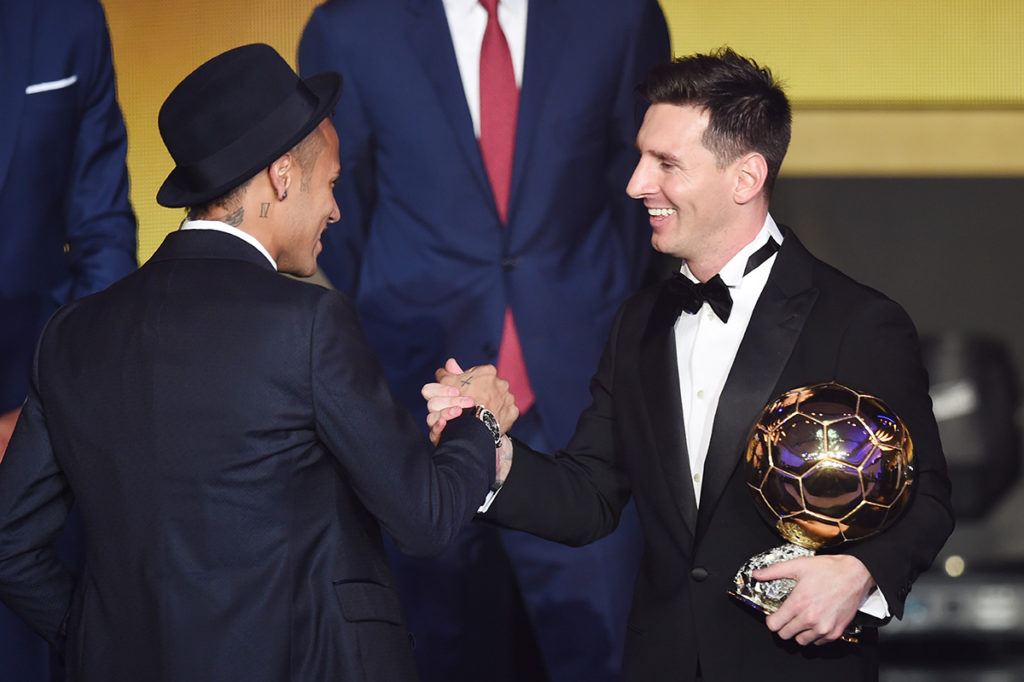 Messi meilleur joueur du monde 2015