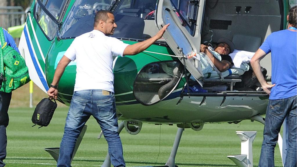 Neymar blessure 2014