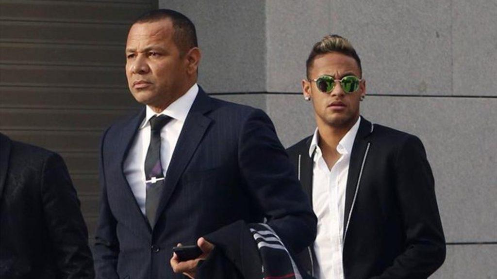 Neymar Sr et Neymar Jr